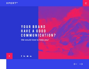 Xpert® Responsive PSD Website Template