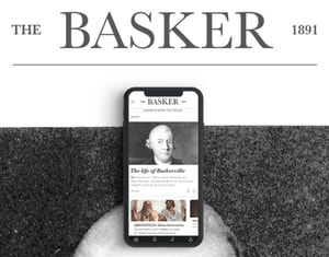 The Basker 1891 - UI/UX news mobile app & newspaper