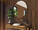 3D interior wooden style - new wave