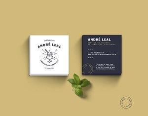 ANDRÉ LEAL - BRAND IDENTITY