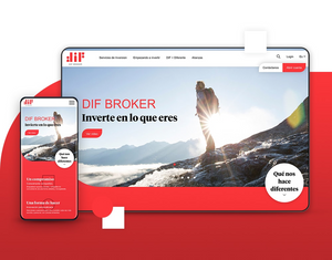 DIF Broker — Website [2018]