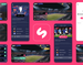UI/UX - Sports Stream & Quiz app