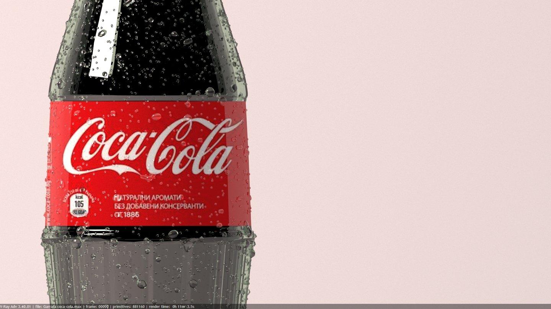 Garrafa Coca-cola 3Ds Max | Indústria Criativa